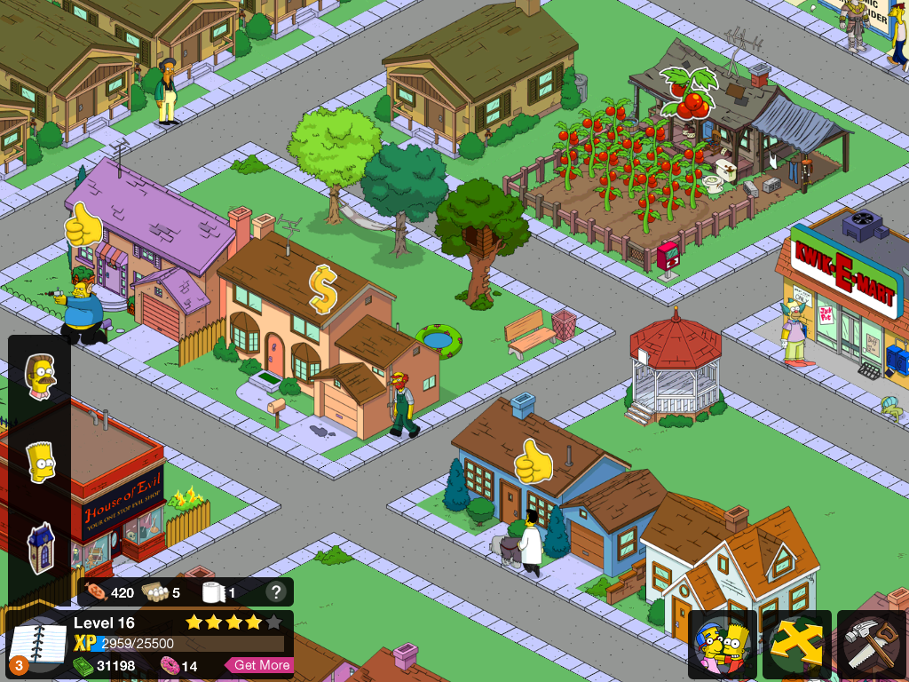 Simpson tapped out
