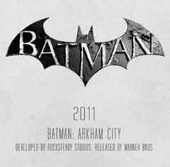 2011 - Batman: Arkham City