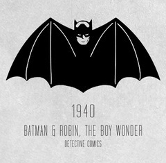 9. The one that started it off. Batman kind of looks like a vampire here.