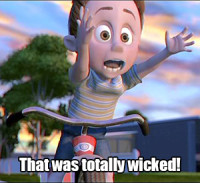 It certainly was, kid from The Incredibles, it certainly was.