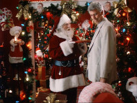 Here we see Barry Bostwick at the exact moment he realises he's in a tedious Christmas movie