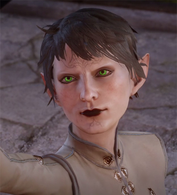 Q*Bella, a Dalish elf who just wants to help out