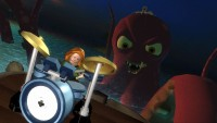 The LEGO octopus was my favorite part of the game.