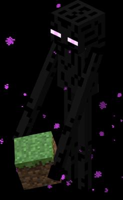 Endermen: my favorite mobs in Minecraft